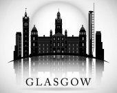 Modern Glasgow City Skyline Design Scotland