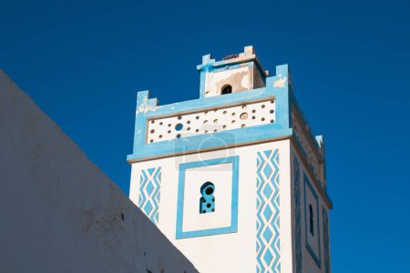 Tower of a mosque in Sidi Ifni, Morocco