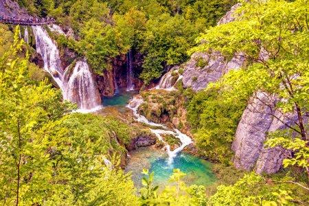 Incredibly beautiful fabulous magical landscape wi...