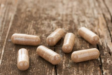 Food supplements in capsules