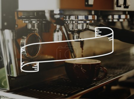 coffee machine in cafe