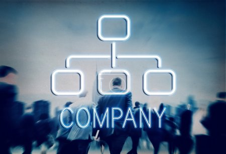 Business People and Company  Concept