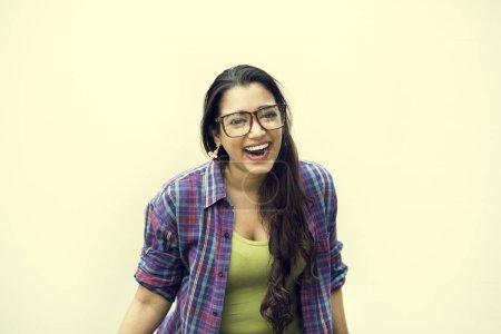 Indian Teen Girl Smiling