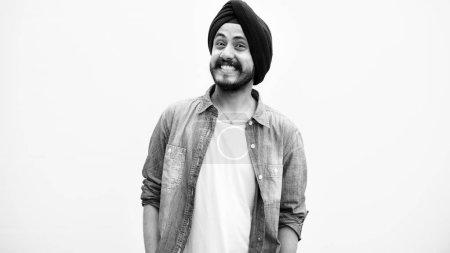 Indian Teen Boy Smiling