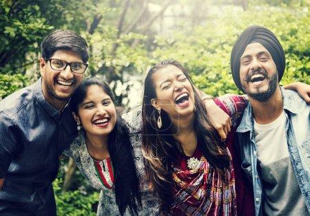 Beautiful indian friends