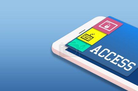 web design template mobile phone