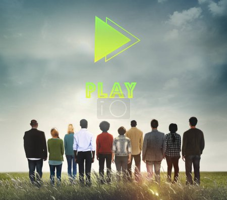 Diversity people and Play Concept