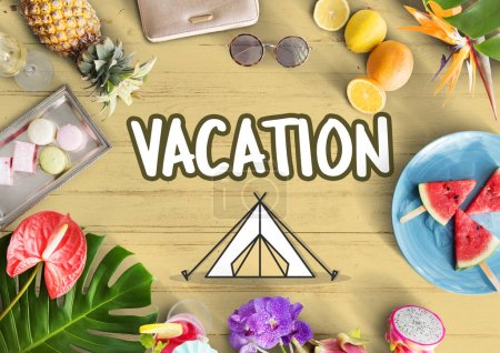 Holiday Vacation Travel concept