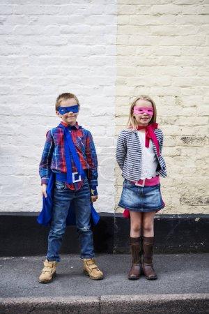Superheroes Kids Concept