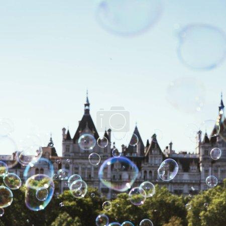 Soap Bubbles and Parliament Building