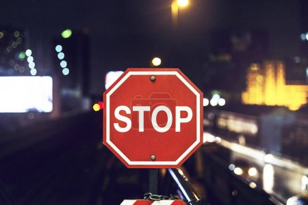 Stop Street Traffic Sign