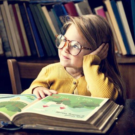 Girl Reading Story