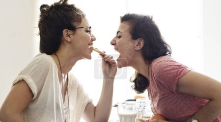 Lesbian Couple Spending time Together