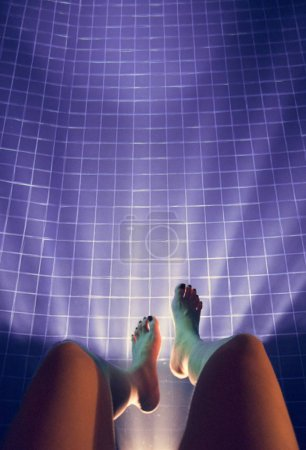 Legs Hanging Pool
