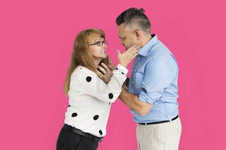 Nervous Couple Argue