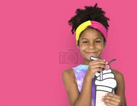 adorable african american girl