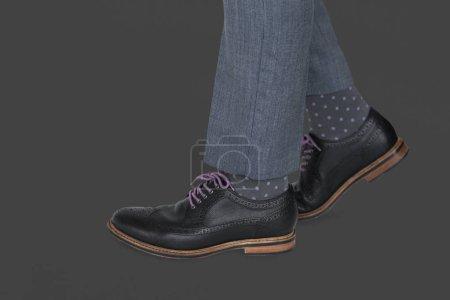 Stylish man shoes