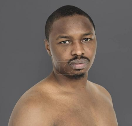 Studio shoot of young African man