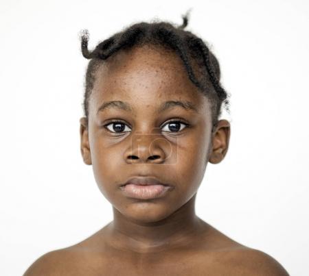 African kid portrait