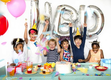 Kids on Birthday Party