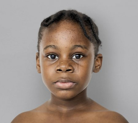 African kid portrait