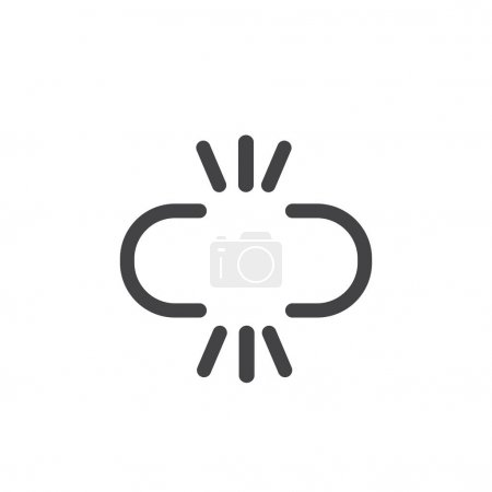 illustration of pattern icon concept
