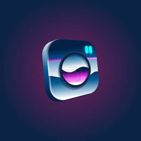 Artwork Social Logo Vector Illustration Concept