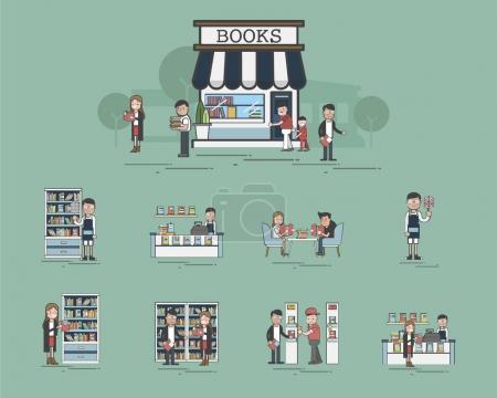 Illustration of library set