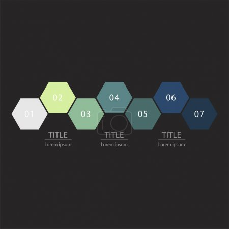 Illustration Elements of infographic for business