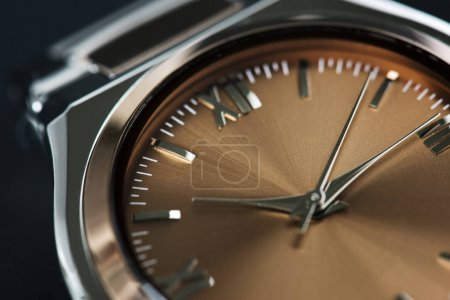 Closeup of watch concept