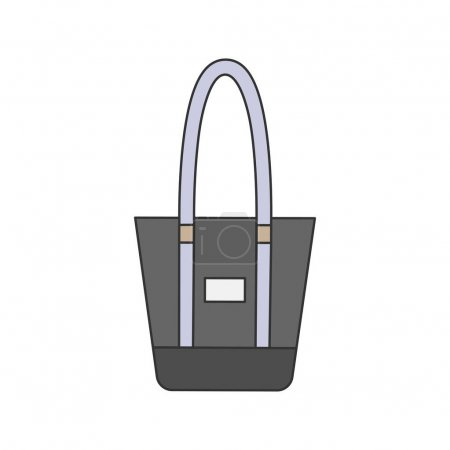 Illustration of a tote bag