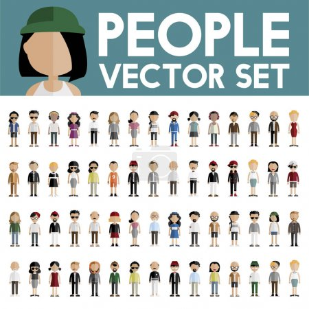Diversity People Icons