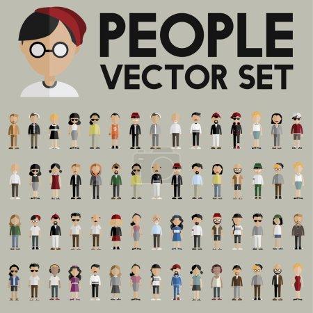 Diversity People Icons