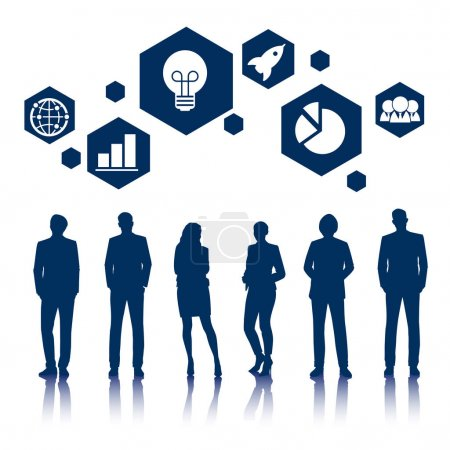 Business People and Graphic icons
