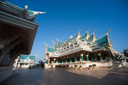 Thai Church in Wat Pa Phu Kon ,Thailand.