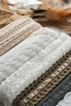 Laces and sewing accessories