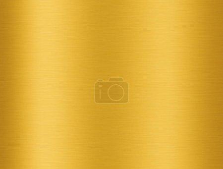 Photo pour Texture aluminium doré avec réflexion pour fond - image libre de droit