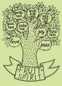 Biblical illustration from the new Testament fruit of the spirit