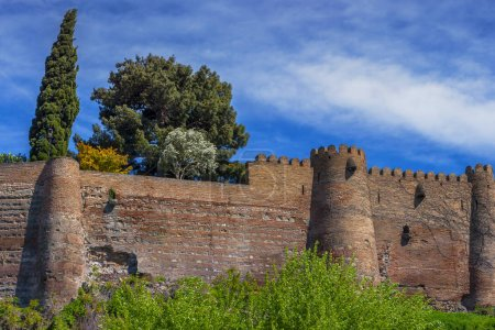Old fortress wall in Tbilisi