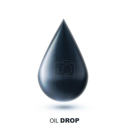 oil realistic icon
