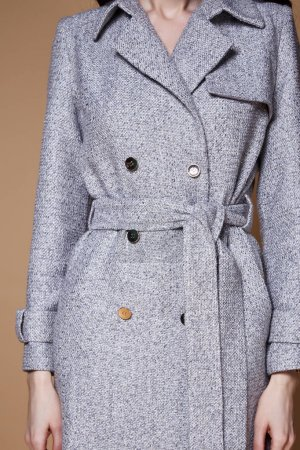 Beautiful sexy woman wear business style clothing for office cas
