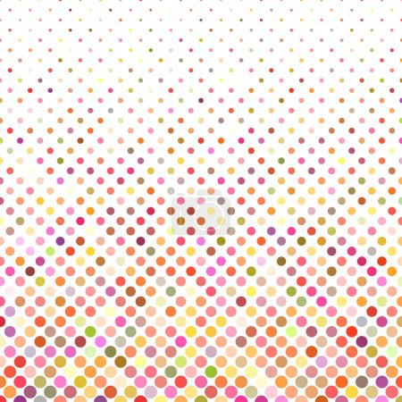 Multicolor dot background - vector illustration