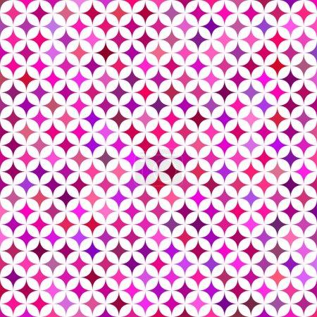 Illustration for Multicolor star pattern background design - vector illustration - Royalty Free Image
