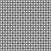 Seamless black and white thorn pattern