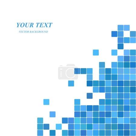 Abstract digital art background template design