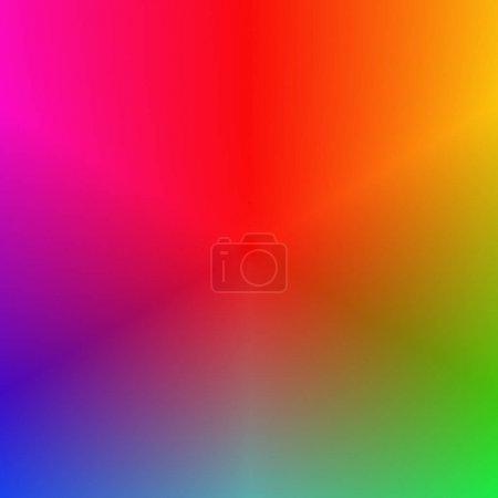 Illustration pour Multicolore fond abstrait dégradé lisse - conception vectorielle - image libre de droit