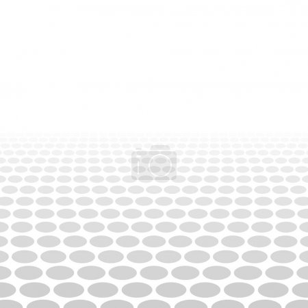 Grey white 3d circle background