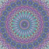 Abstract mandala ornament background design