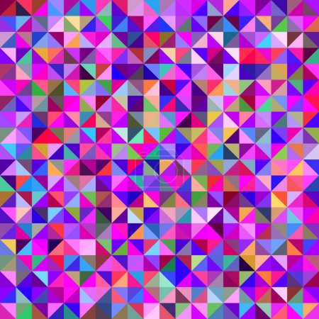 Colorful abstract triangle pattern background