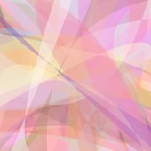 Abstract background from dynamic curves - vector design